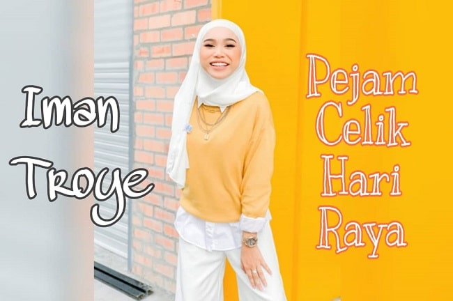 Iman Troye - Pejam Celik Hari Raya (Official Music Video)