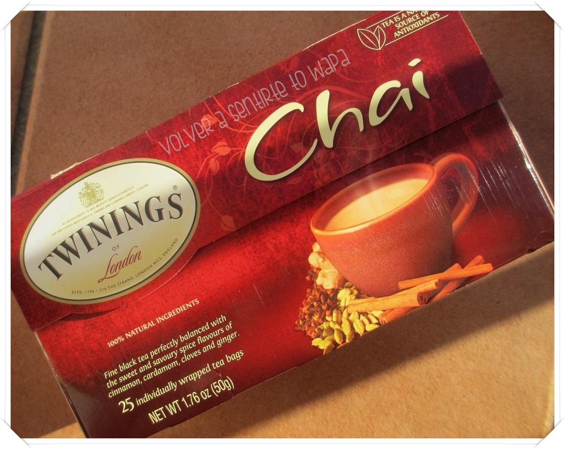Twinings té chai de iHerb