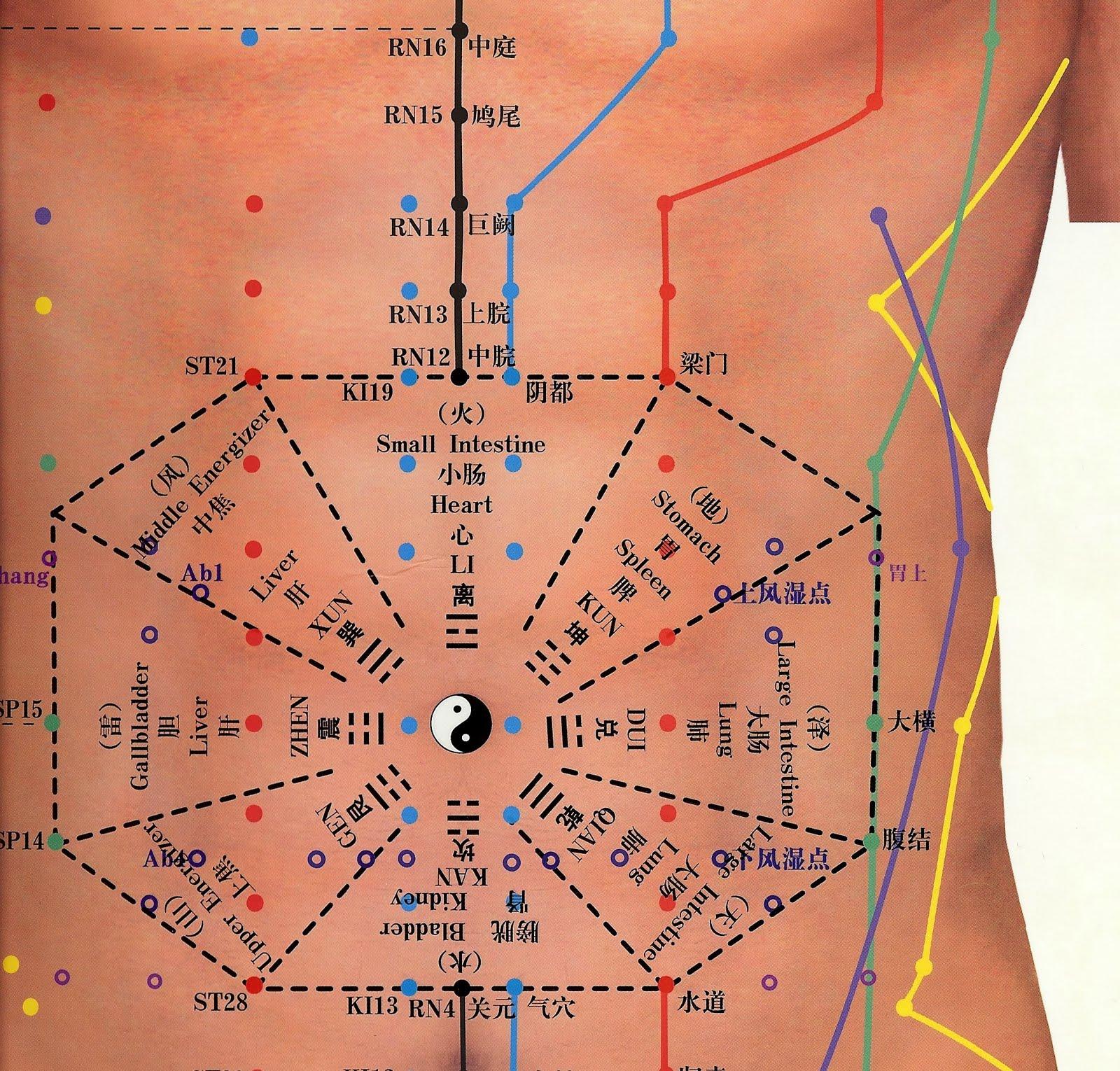Préférence Blog Le Souffle du Menhir: Relation entre le bagua et le corps humain LH29