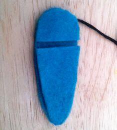 Langkah Pembuatan Jepit Rambut dari kain Flannel