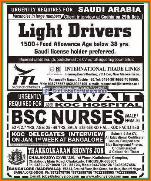 Kuwait Job Vacancy 2014 – kitchen