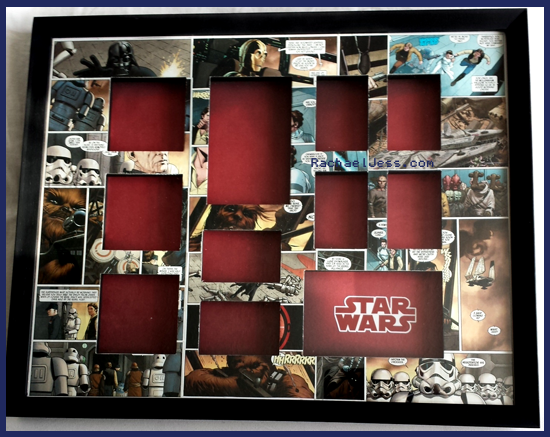 New Star Wars Comic border completed