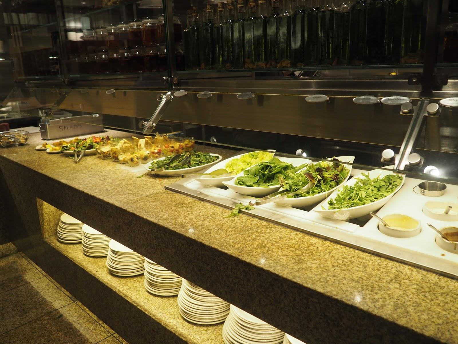 Pasta at Baachanal Buffet at Caesar's Palace, Las Vegas