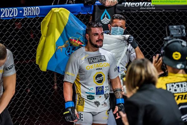 Tato Primera gana al checo Kalašnik y entra en la lista de aspirantes al título Oktagon