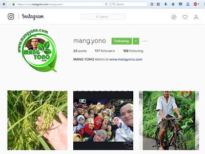 Instagram Mang Yono