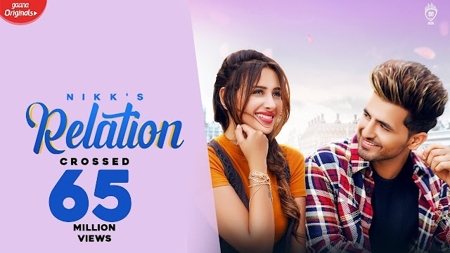 Relation Song Lyrics | Nikk Ft. Mahira Sharma | LYRICS HOTEL