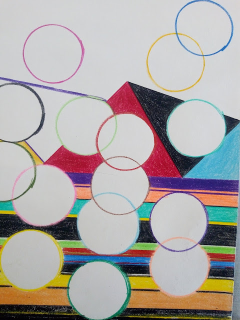 Drawing image of circles