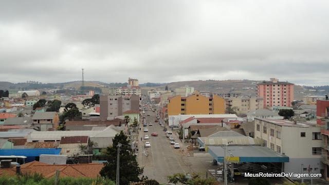 Vista panorâmica do Belvedere - São Joaquim/SC