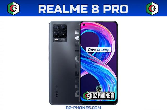 سعر ريلمي 8 برو في الجزائر و مواصفاته Realme 8 Pro Prix Algerie