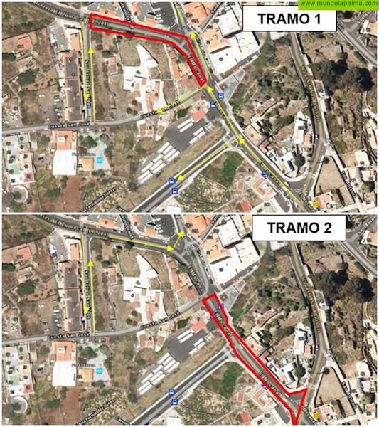 El Cabildo cierra el 4 de marzo, de forma temporal, el tramo inicial de la carretera de El Zumacal