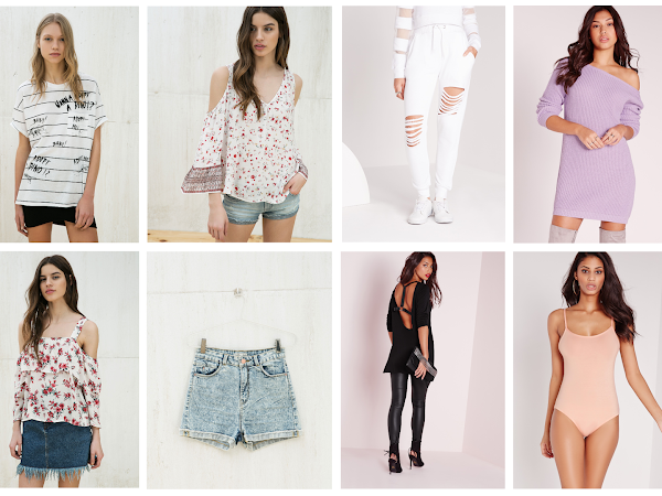 Wishlist | Bershka & Missguided