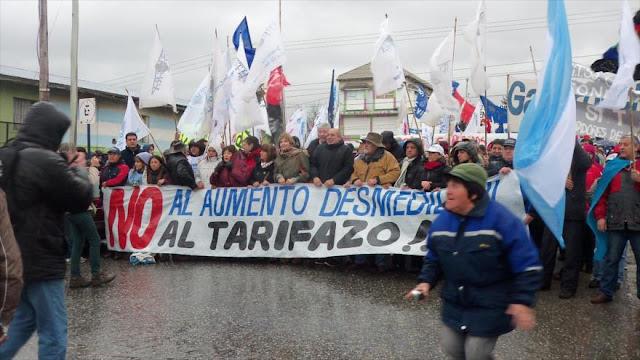 Llaman a nueva marcha federal contra el tarifazo de Mauricio Macri