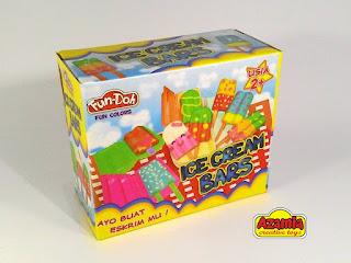 Fun-Doh Ice Cream Bars, fun doh indonesia, fun doh surabaya, distributor fun doh surabaya, grosir fun doh surabaya, jual fun doh lengkap, mainan anak edukatif, mainan lilin fun doh