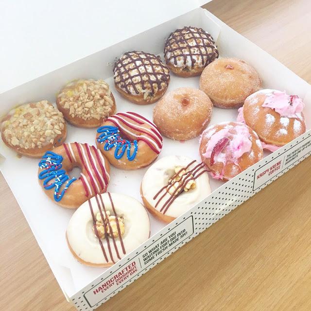 • Krispy Kreme South Africa • Doughnuts of the World •