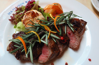 Ma Maison Kitchen, xmas steak
