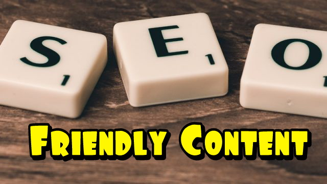 How to write SEO Friendly Content