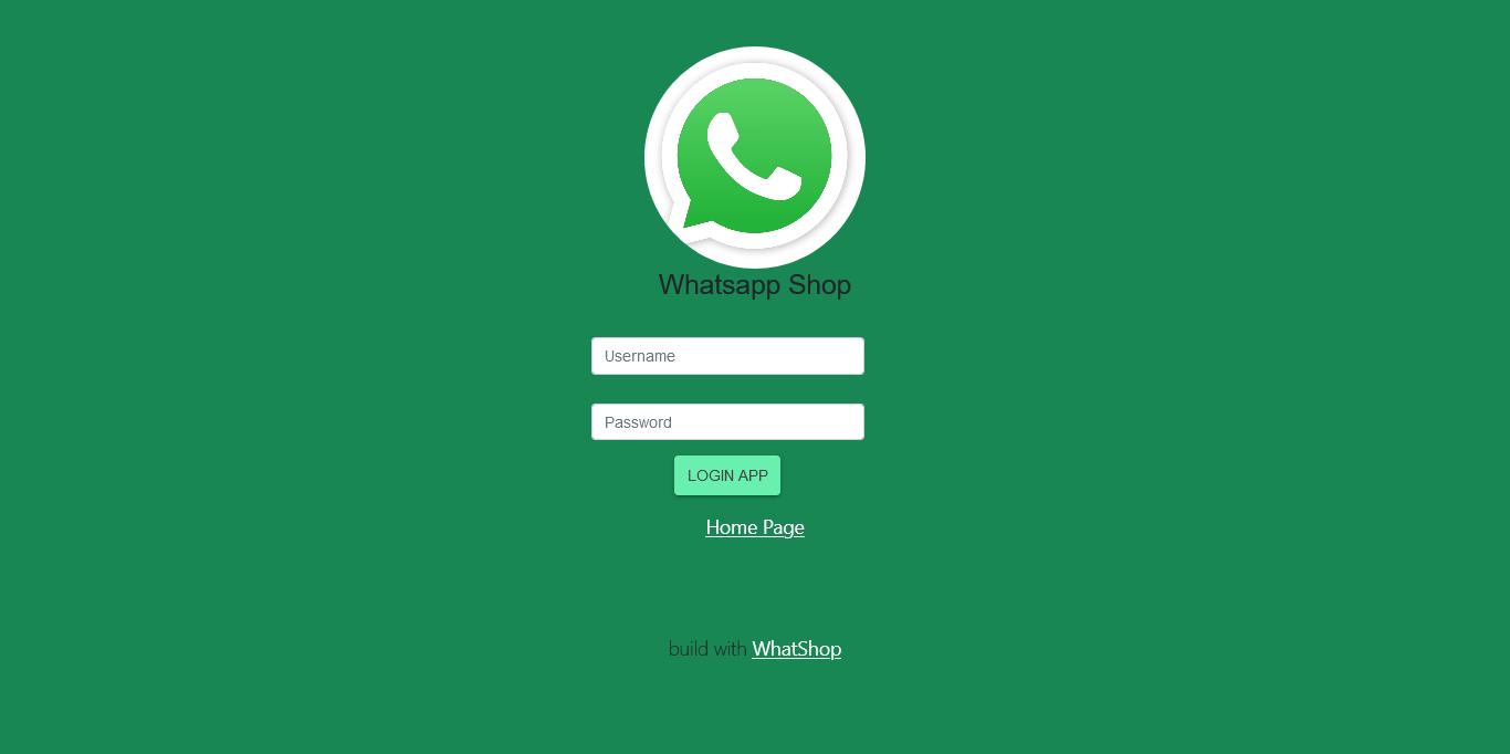 whatsapp online shop order toko online shop Aplikasi pembuatan toko online shop