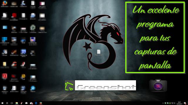 Greenshot 1.2.10.6 | Programa para hacer capturas de pantalla muy sencillo pero a la vez muy completo