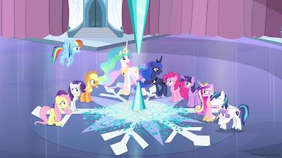 Cena da sexta temporada de My Little Pony - Divulgação