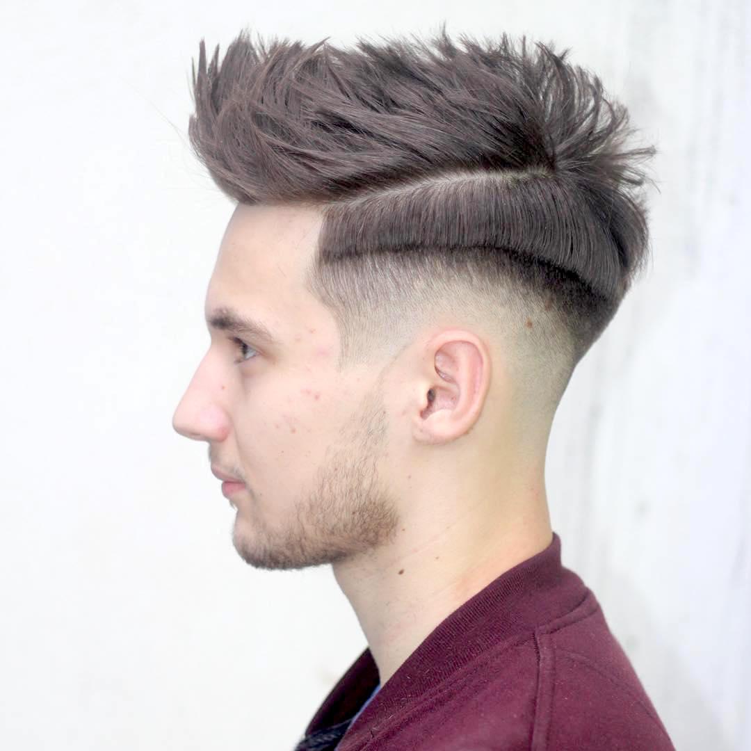 Peinado de moda para hombres 17 ldeas con im genes - Peinados de moda para hombre ...