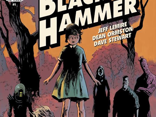 Reenha: Black Hammer - Origens Secretas Vol #1 - Jeff Lemire
