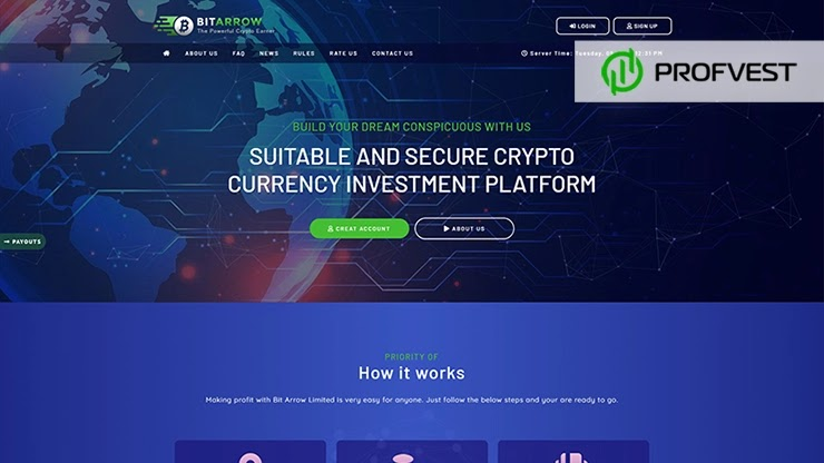 Bit Arrow Limited обзор и отзывы HYIP-проекта