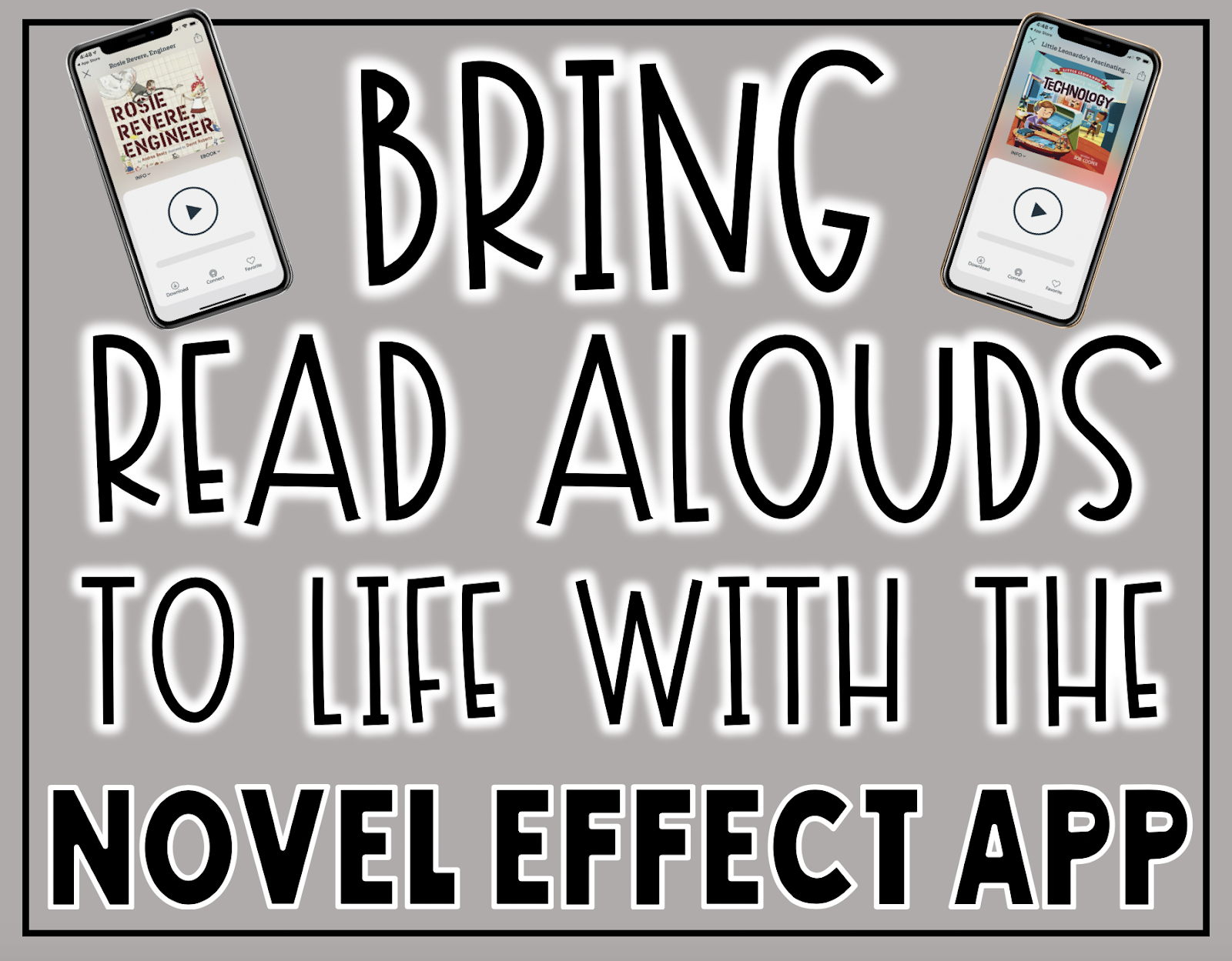 Bring Read Alouds to Life with the Novel Effect Fluency App