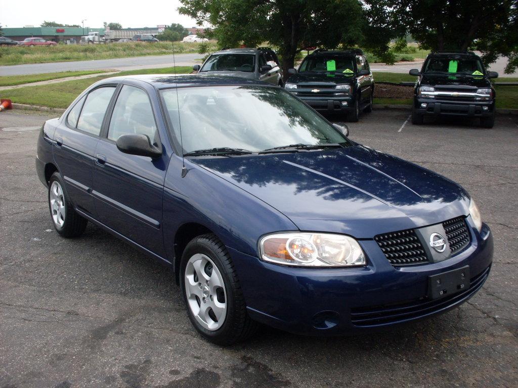 Ride Auto: 2006 Nissan sentra Blue