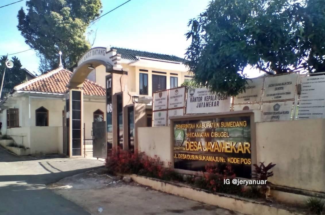 Kantor Desa Jayamekar, Kecamatan Cibugel, Kab. Sumedang