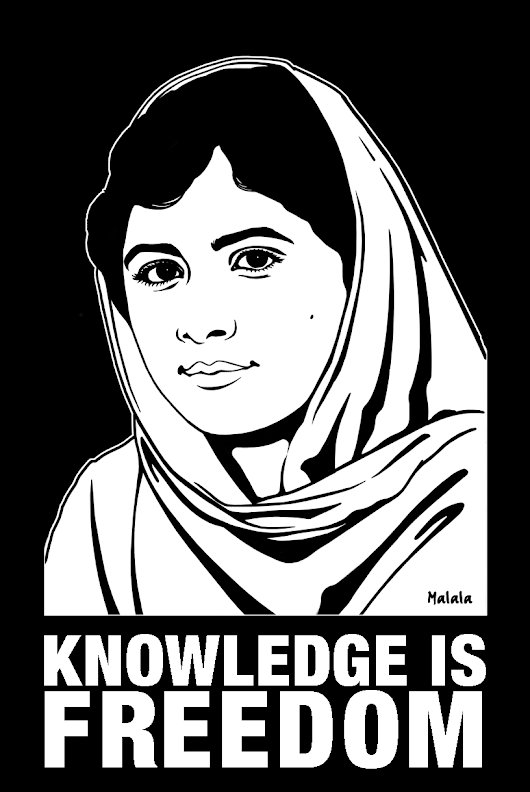 On bearing with a Noble Malala......