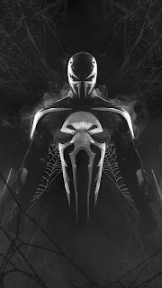 Venom X Punisher Mobile HD Wallpaper
