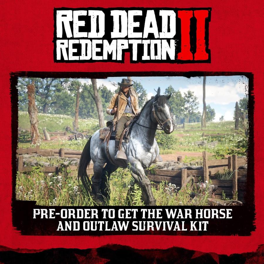 red dead redemption 2 pre order bonus