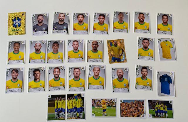 figurine brasile copa america 2021