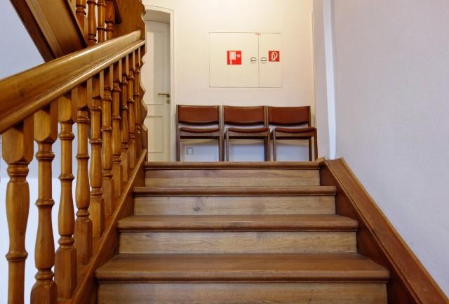 Railing tangga