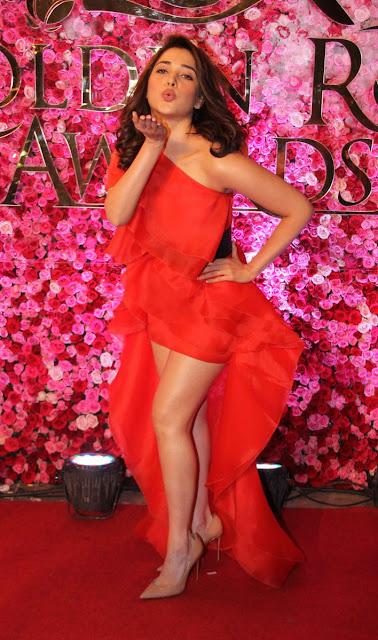 tamanna at Lux golden rose Awards