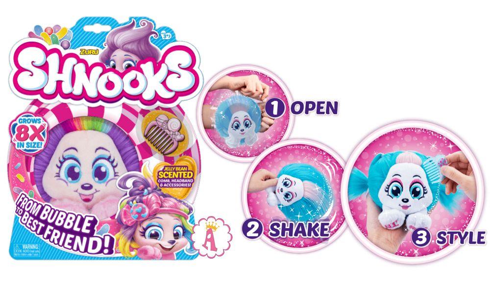 Мягкие игрушки сюрпризы Shnooks Zuru