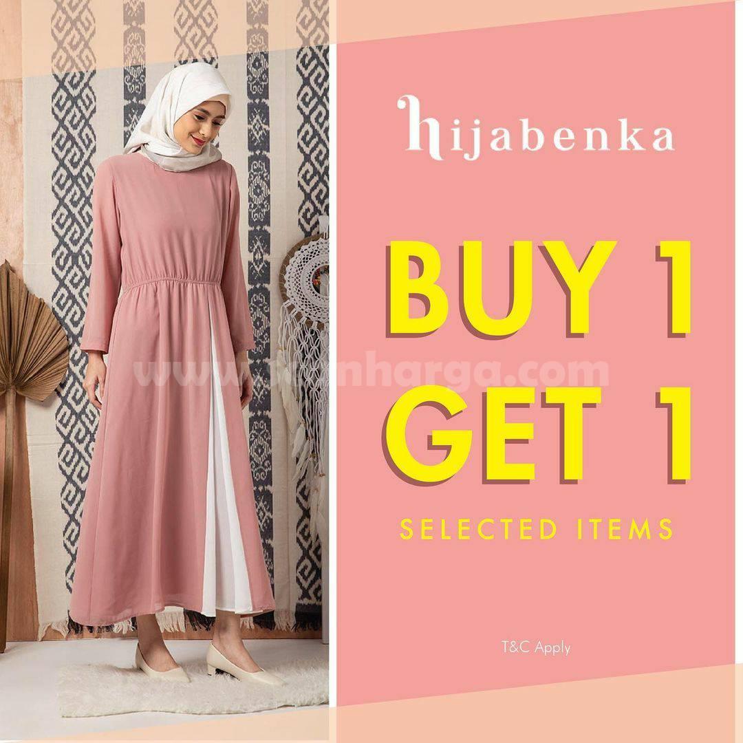 Promo Hijabenka: Buy 1 Get 1 Free Selected Item