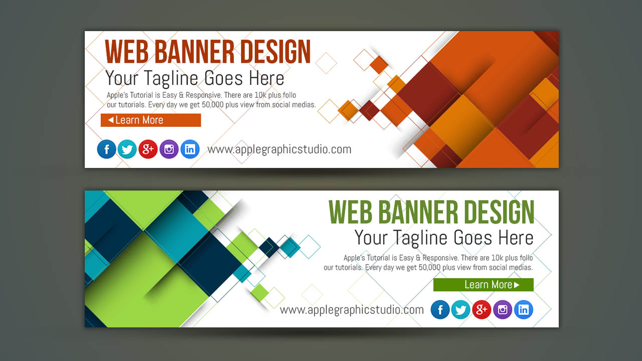 How to design your own web banner photoshop tutorial apple how to design your own web banner photoshop tutorial baditri Image collections