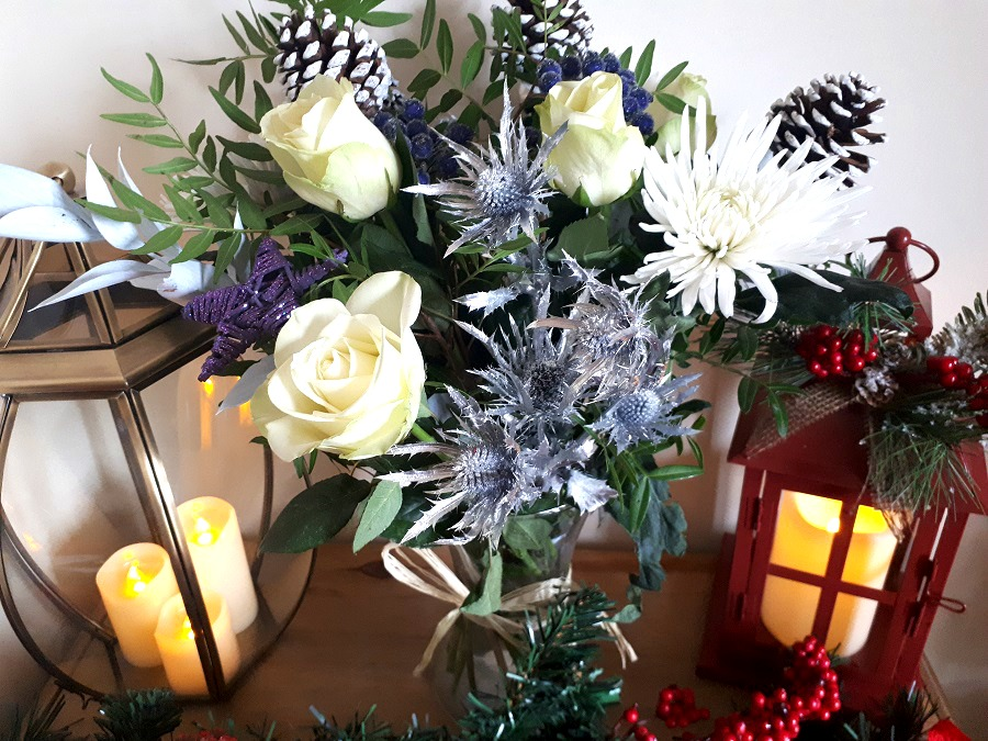Christmas Decor, Festive Flowers, Home style, The Style Guide Blog, Prestige Flowers