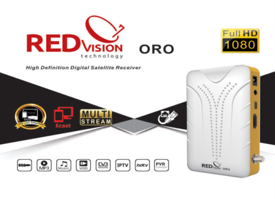 RED VISION ORO 2507L SVO1 V11.02.07 NEW SOFTWARE 08-03-2021