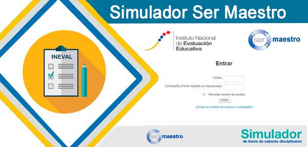 quiero ser maestro 6 simulador