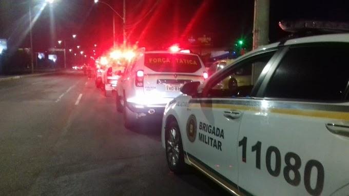 Tentou roubar uma casa e foi preso pela Brigada Militar em Cachoeirinha
