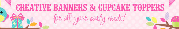 Creative Banners & Cupcake Toppers Review & Giveaway