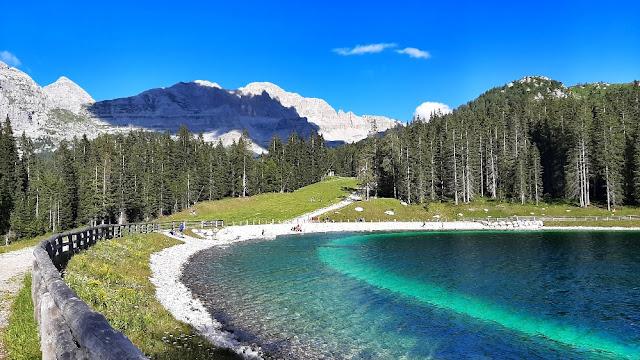 lago montagnoli madonna di campiglio