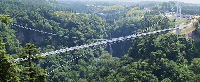 【大分縣必去!】7百多米高空俯瞰大自然 九重「夢」大吊橋