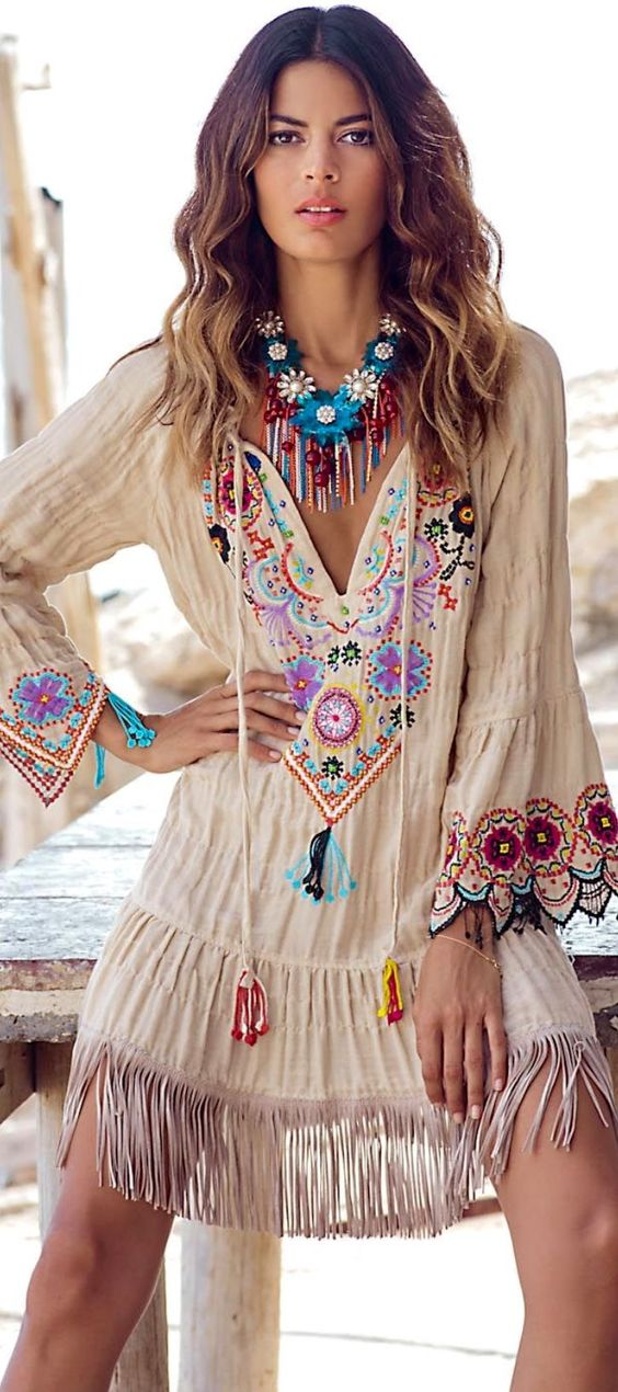 Ibiza Boho In Color Full Outfit Style