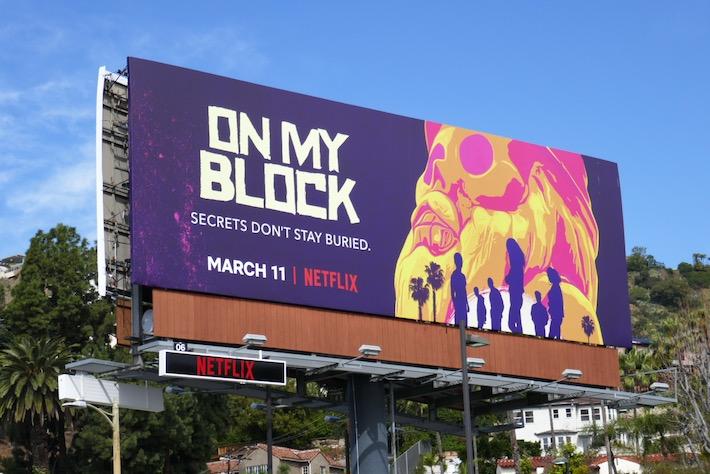 On My Block S3 Netflix billboard