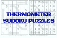 Thermometer Sudoku Variation Puzzles