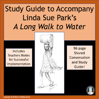 Cover of Novel Study Guide to Accompany Linda Sue Park's A Long Walk to Water