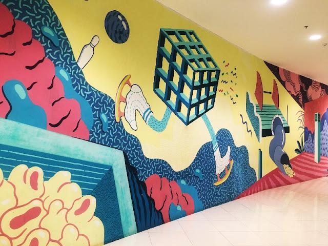 SM Seaside Instagrammable Hallway Towards Mountain Wing 2021
